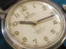 Nice Vintage 1960s IMPERIAL S.S. 17J Manual Wind Men's Watch