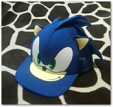 Gorra sonic blue Children Hip Hop Baseball Cap Summer Sun Hat Boys