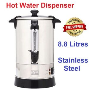 Hot Water Dispenser 8.8L Stainless Steel Urn Drink Coffee Tea Drinks Electric
