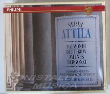 ATTILA - RAIMONDI, DEUTEKOM, MILNES, BERGONZI - GARDELLI - 2CD Sigillato