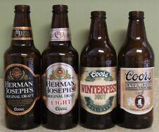 Coors Beer Bottle Lot ~ Winterfest 1987 ~ Extra Gold ~ Banquet ~ Herman Joseph's