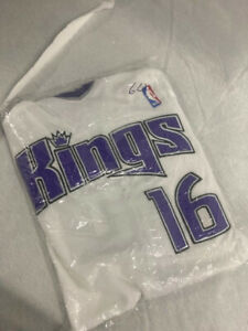 #16 Peja Stojaković: Sacramento Kings Size 60 5X Reebok Jersey New with tags