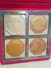 ⭐️NYX Diamonds & Ice Highlighting Palette Best Life Four Color Gift Set NIB