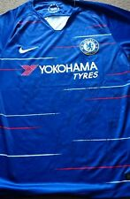 Chelsea Home Shirt hand signed, BNWT 2018/19