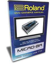 Roland (Boss) Micro-BR DVD Video Training Tutorial Help