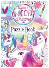 12x Unicorn Puzzle Party Fun Books - Party/Loot Bag Filler/Wedding/Pinata