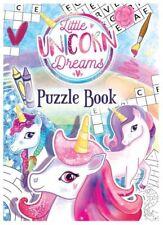 12x Unicorn Puzzle Party Fun Books - Party/Loot Bag Filler/Wedding/Pinata