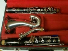 Beautiful Selmer Paris Professional Wooden Alto Clarinet. Ready to play!