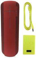 Logitech Ultimate Ears UE MEGABOOM Wireless Waterproof Portable Speaker Lava Red