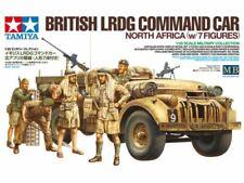 Tamiya British LRDG Command Car w/7 Figures 1/35 Scale #32407