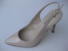 Pierre Dumas Womens Shoes NEW $52 Cherry Nude Patent Slingback 9 M
