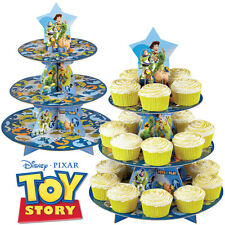 TOY STORY CUPCAKE STAND WILTON KIT 24 Baking Cups Child Birthday Party Pixar NEW
