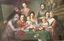 The Peale Family Charles Wilson Peale Art Print 1960  Free Shipping