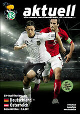 European Championship Qualification 02.09.2011 Germany - Austria