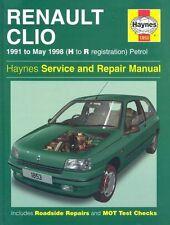 Renault Clio Petrol (91 - May 98) Haynes Repair Manual