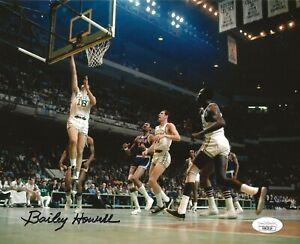 Bailey Howell signed Boston Celtics 8x10 photo autographed HOF JSA