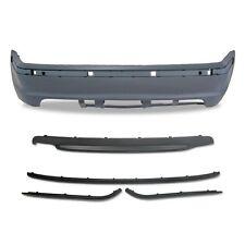 PARE CHOC ARRIERE + SPOILER PACK M M2 EN ABS BMW SERIE 3 E46 BERLINE 98-05