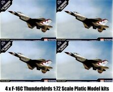 4 x 12429 Academy Plastic Model F-16C F16 F-16 1:72 Kit Airfix TIPO NUOVO IN SCATOLA
