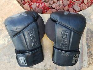 HAYABUSA Tokushu Regenesis 16 oz. Black Boxing Kickboxing MMA Gloves UNISEX