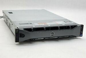 Dell PowerEdge R720XD Server 2*Xeon E5-2620 6C 2GHz CPU 32GB RAM Perc H710 Mini