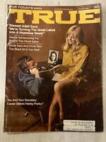 Vintage 1969 True Men's  Magazine |Black GI| Cheating With Secretary|Bikini