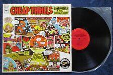 Big Brother & The Holding Company Cheap Thrills Vinyl, LP Janis Joplin EX