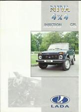 Lada niva 4 x 4 injection & gpl 1995 langue française