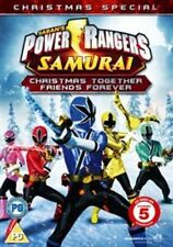 POWER RANGERS SAMURAI XMAS NEW DVD
