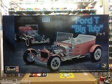 Revell 85-2622 1/8 Scale Ford T Big Tub 2 n 1 Model Kit Hot Rod V8 Triple Carbs