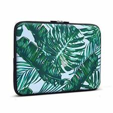 13-13.3 Inch Laptop Sleeve Palm Leaf, iCasso Neoprene Elegent Protective