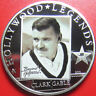 "2010 COOK ISLANDS $5 SILVER PROOF ""CLARK GABLE"" HOLLYWOOD STAR LEGENDS COA+CARD"