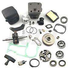 50MM Cylinder Piston Crankshaft Muffler Clutch For HUSQVARNA 362 365 371 372 XP