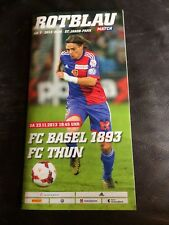 FC BASEL v FC THUN  2013-14  SCHWEIZ / SUISSE LIGA / SWISS LEAGUE