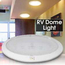LED 12V Pancake Light RV Caravan Trailer Boat Interior Ceiling Dome Light White