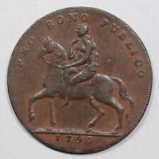 1793 D&H 243a Coventry Half Penny Conder Token