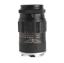 Leica Leitz 90mm f2.8 Elmarit black Lens, #2426661, M-mount