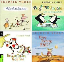 Ping Pong Pinguin, Katzen Tatzen, Hupp Tsching, Märchenlieder, Fredrik Vahle CD