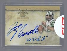 """2012 Topps Five Star Joe Namath Auto Quotable Signatures """"We Did it"""" #7/10 Jets"""