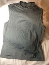 Nike Pro Combat Sleeveless Fitted Shirt Sz M Compression Dri Fit #4 on Back