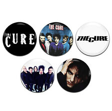 5x The Cure Band Goth Rock Indie 25mm / 1 Inch D Pin Button Badges