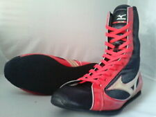 Mizuno Boxing Shoes Mid Black x Gold × Red Made in Japan Bto free shipping Jpn