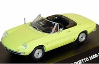 MAXI CAR 10012 10152 or 10153 ALFA ROMEO SPIDER DUETTO 1600 model car 1966 1:43