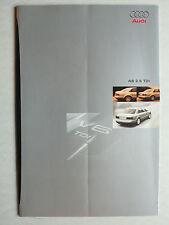 Prospetto AUDI a8 2.5 TDI per Premiere, 6.1997, 12 pagine, Folder