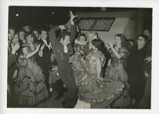 Danseurs gitans del Sol y Sombra à Paris Vintage silver print Tirage argentiqu