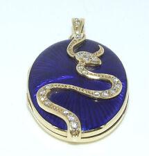 Handgefertigt Sehr gute Echte Diamanten-Halsketten & -Anhänger aus Gelbgold