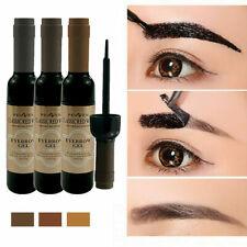 Waterproof 3 Color Peel-off Eyebrow Tattoo Tint Painless Eye Brows Gel Cream NEW