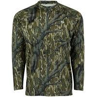 Mossy Oak Long Sleeve Camo Hunt Tech Tee, Hunting Shirts for Men