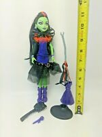 Monster High Casta Fierce Doll, Brush, Broom Stand Witch