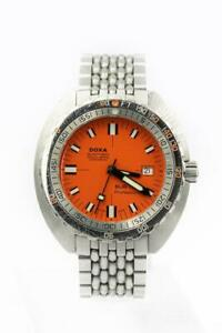 Rare 46mm DOXA Sub 750T Professional Clive Cussler Edition Wristwatch