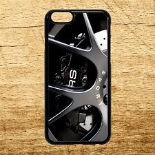 Audi RS línea BBS Sport Aleación Apple Iphone Samsung Galaxy funda todos los modelos